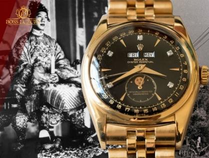 Đồng hồ Rolex 6062 vua Bảo Đại - Chiếc đồng hồ Rolex huyền thoại