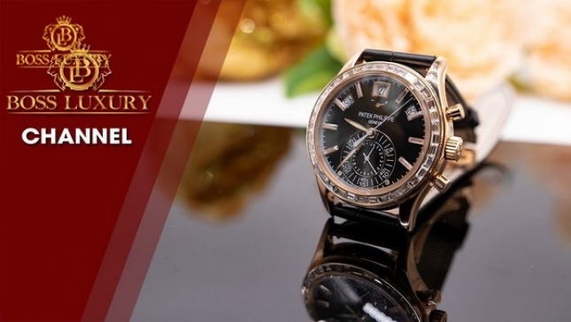 Thay khóa đồng hồ Patek Philippe chính hãng tại Boss Luxury
