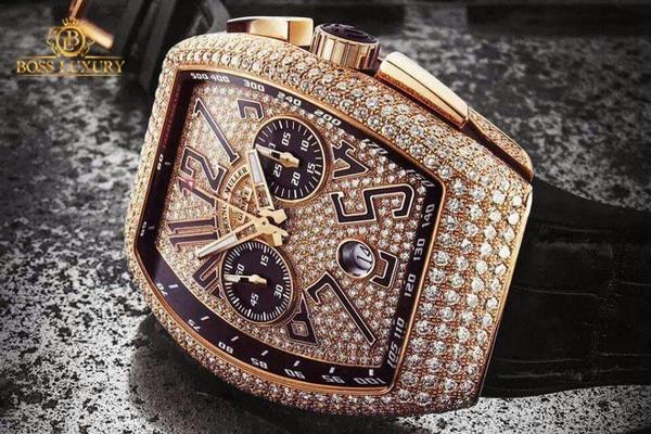 Mua Franck Muller chính hãng ở đâu: tới Boss Luxury mua đồng hồ hàng hiệu chuẩn giá
