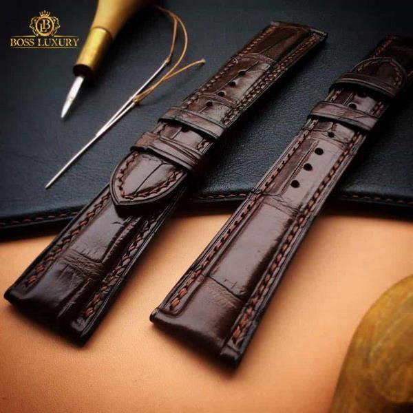 Boss Luxury thay dây da đồng hồ Patek Philippe