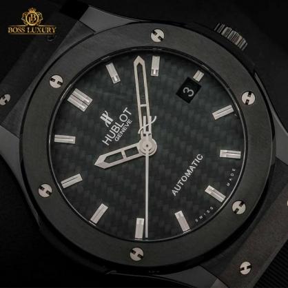 Giới sưu tập phát cuồng với mẫu đồng hồ Hublot đen Black Magic