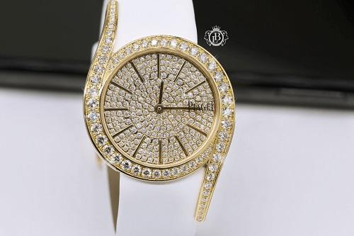 Đồng hồ Piagetđính đá cao cấp rất sáng và lấp lánh