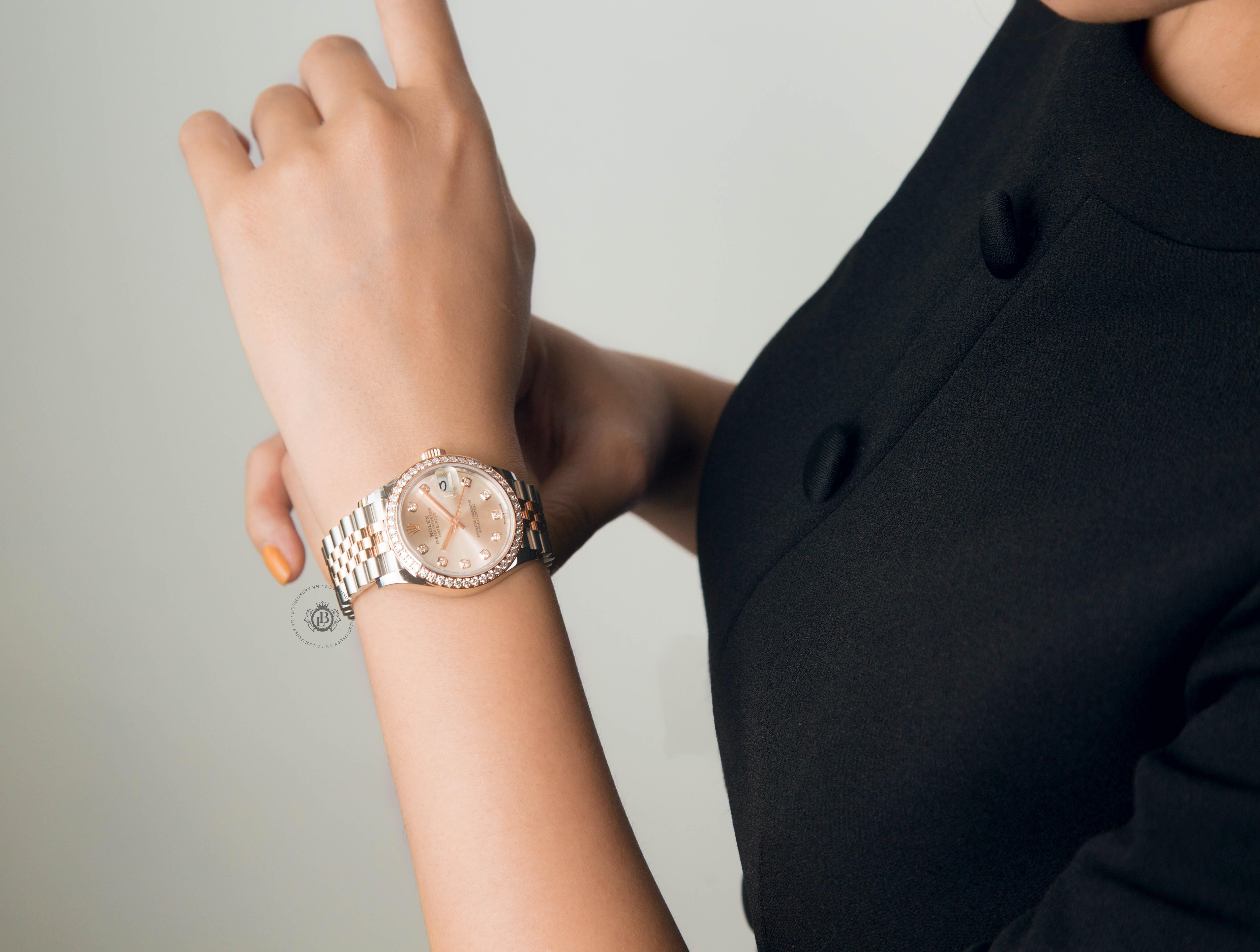 Địa chỉ bán đồng hồ Rolex nữ chính hãng giá rẻ và uy tín tại Việt Nam