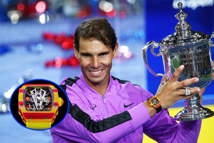 Điểm mặt loạt đồng hồ siêu phẩm của Nadal, Ronaldo và các ngôi sao thể thao hàng đầu thế giới