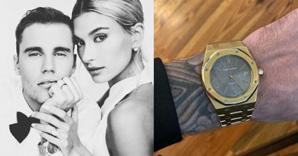 Đồng hồ 33.000 USD được Justin Bieber đeo trong lễ cưới có gì đặc biệt?