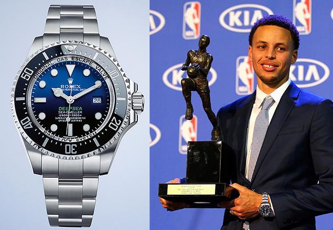 Ngôi sao bóng rổ Stephen Curry và bộ sưu tập đồng hồ đẳng cấp