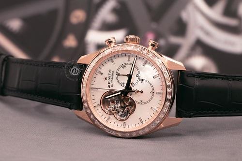 Bộ máyEl Primero nổi tiếng trên mẫu đồng hồ hiện đại của hãng Zenith