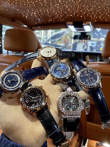 Mua đồng hồ patek philippe chính hãng ở đâu?