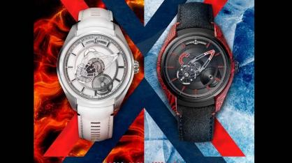Núi lửa và băng cực truyền cảm hứng cho đồng hồ Ulysse Nardin Freak X mới