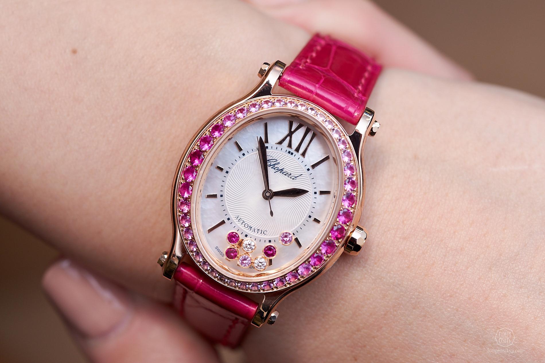 Quà tặng 8/3: Sắc hồng nữ tính trên 5 chiếc đồng hồ cao cấp dành cho quý cô