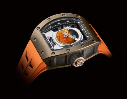 RM 52-05 Tourbillon Pharrell Williams trị giá tới 969.000 USD - Đồng hồ Sao Hỏa lần đầu tiên xuất hiện