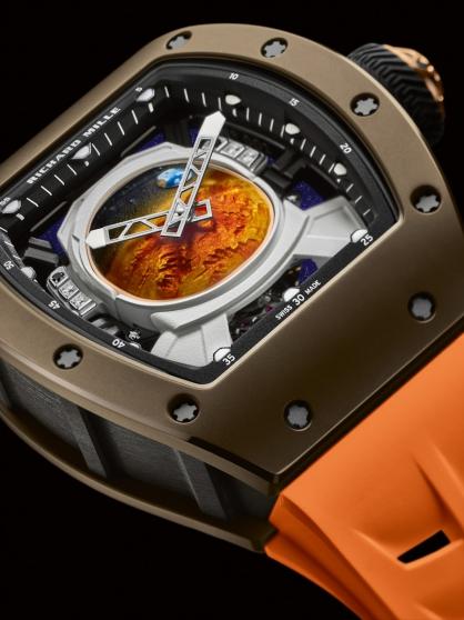 Richard Mille hợp tác với Pharrell Williams trên chiếc đồng hồ RM 52-05 trị giá 969.000 USD