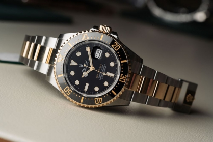 Đồng hồ hai tông màu – sự lựa chọn mới cho những tín đồ thời gian